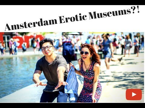 Eurotrip VLOG Series Episode 01: First day in Amsterdam