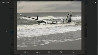 Small plane crashes in ocean in Myrtle Beach