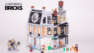Lego Marvel Superheroes 76108 Sanctum Sanctorum Showdown Lego Speed Build