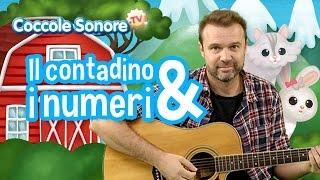 Il Contadino e i numeri - Canzoni per bambini di Coccole Sonore feat. Stefano Fucili