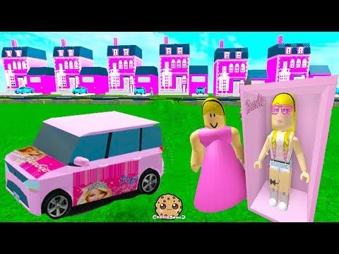 Barbie Cars & Dream Houses ! Random Roblox Games Let's Play Video
