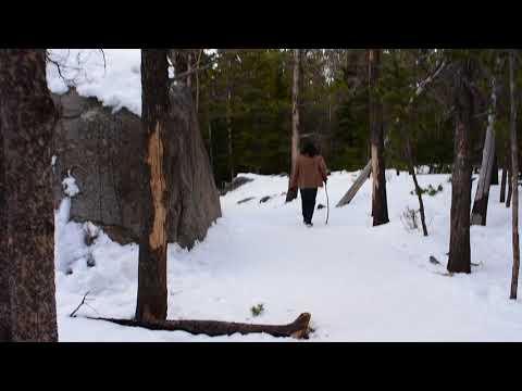 Rocky Mountain trail Colorado