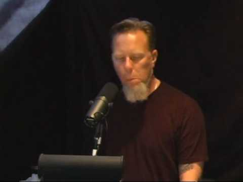 James Hetfield singing The End of the Line