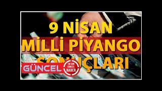 Milli Piyango bilet sorgulama ve sonuç ekranı.. 9 Nisan Milli Piyango tam liste