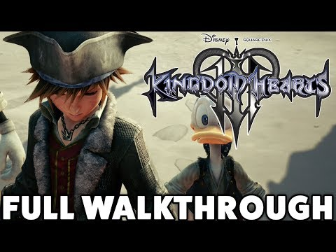 Kingdom Hearts 3 - Full Walkthrough (ENGLISH)