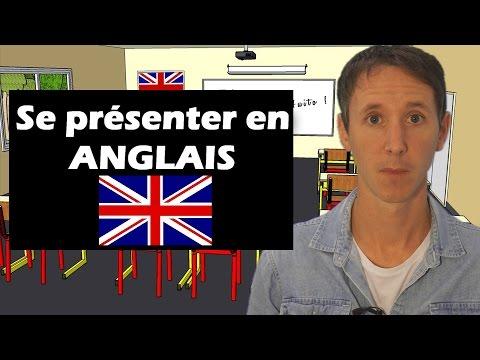 Se présenter en anglais