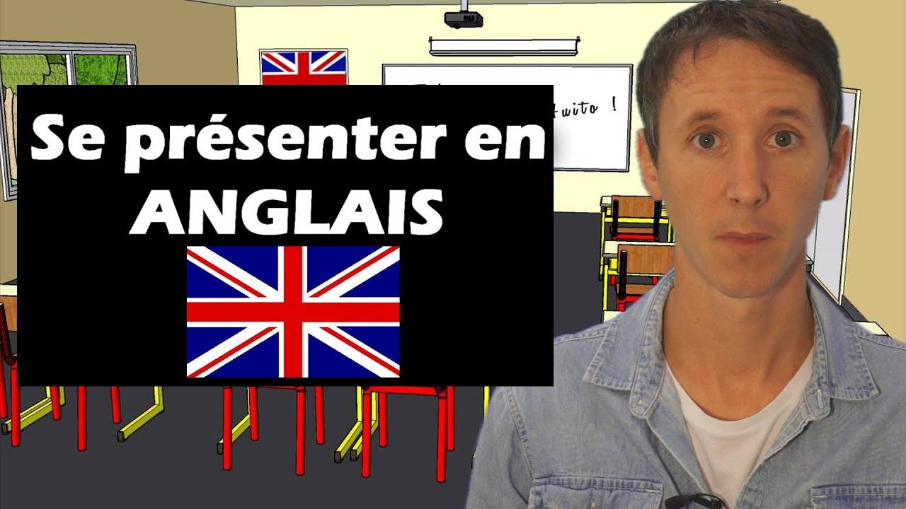 se pr senter en anglais youtube. Black Bedroom Furniture Sets. Home Design Ideas