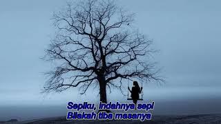 Candra Darusman - Indahnya Sepi - Lagu dan Lirik.