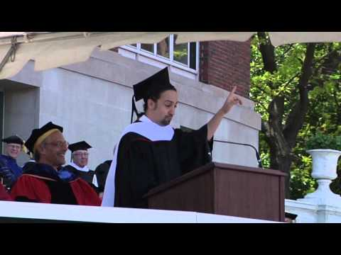 Lin-Manuel Miranda's 2015 Commencement Address