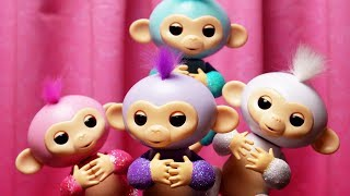 The Fingerlings Show | The Glitter Fingerlings Come To Play | Funny Toy Play