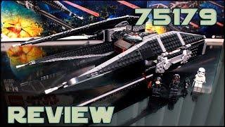Lego Star Wars 75179 Kylo Ren's TIE Fighter Review   Обзор Лего Звёздные Войны 75179 СИД Кайло Рена