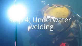 Underwater Pile Repairs - Underwater Welding - Commercial Diving