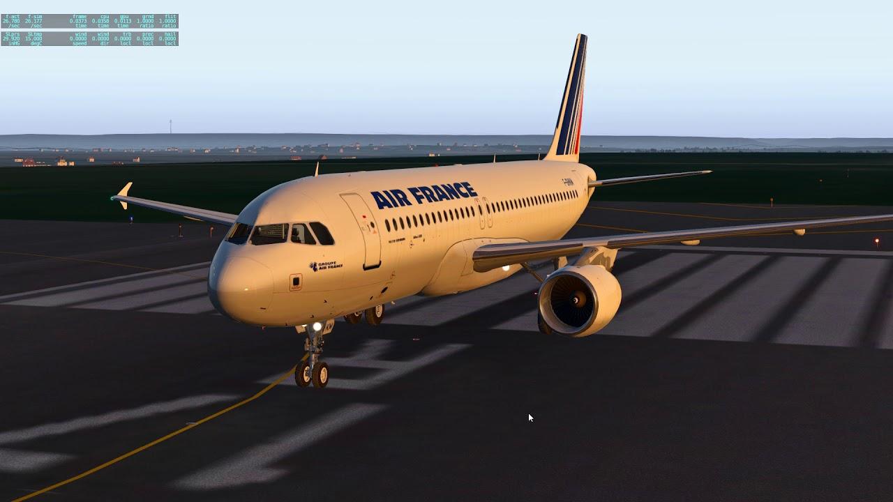 X Plane A320 FF Test son BSS version 1 0