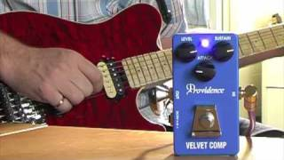 Providence VLC-1 Velvet Compressor: Axis to Lionheart Clean Channel