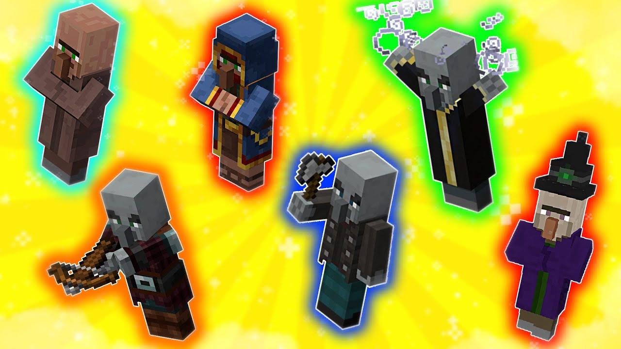 WSZYSTKIE typy VILLAGERÓW !? - Minecraft Na Krawędzi | Valor