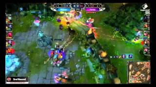 InSec(Lee Sin) LOL All-Star Shanghai 2013