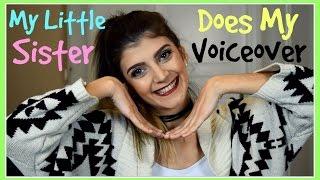 Η μικρή μου αδερφή κάνει το Voiceover   katerinaop22