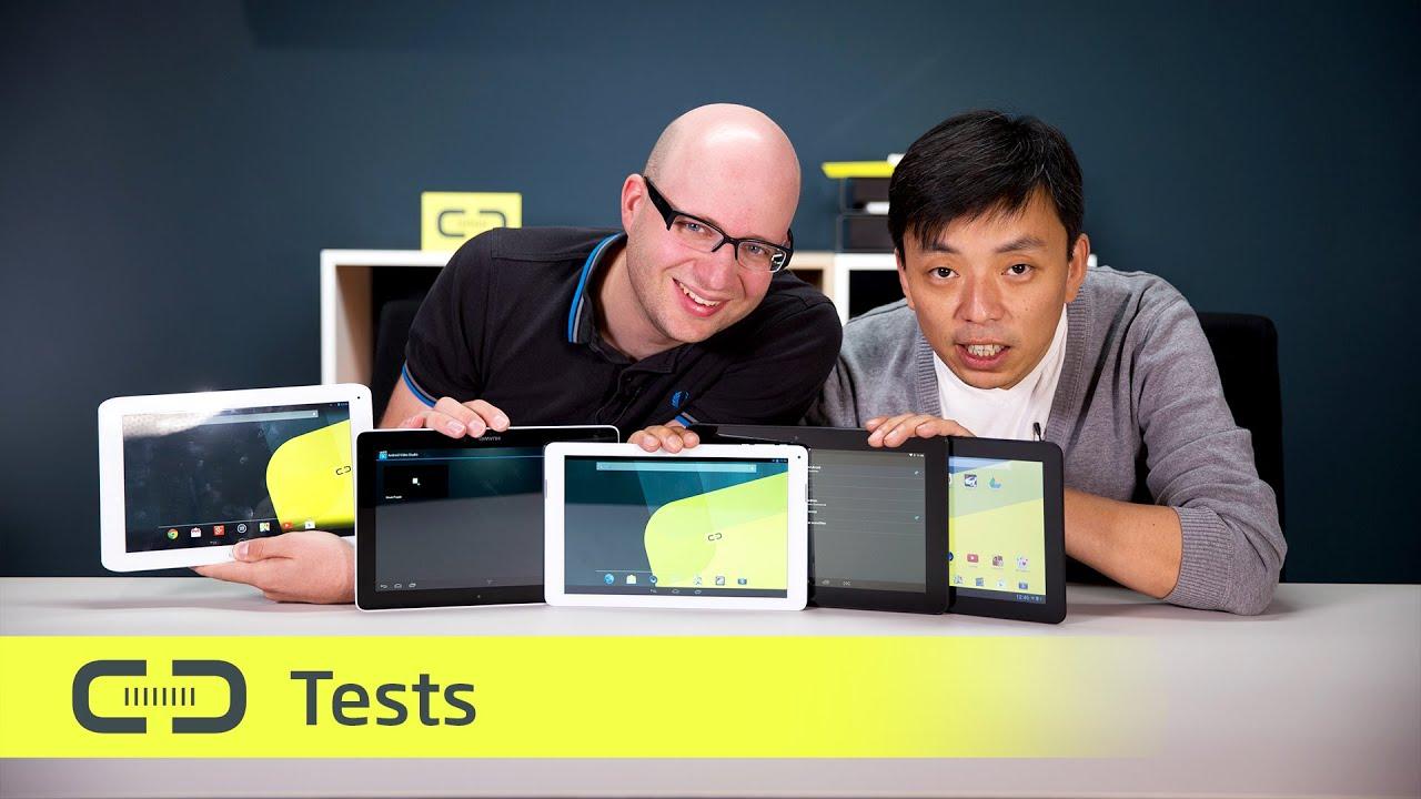 Testfazit: Fünf Android-Tablets Mit 10,1 Zoll Für Unter
