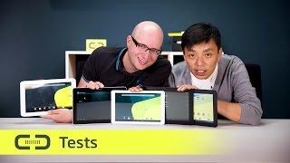 Testfazit: Fünf Android-Tablets mit 10,1 Zoll für unter 200 Euro   deutsch