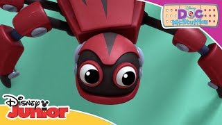 Fixing a Robot Spider 🤖| Doc McStuffins | Official Disney Channel Africa
