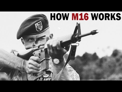 How M16 Rifle Works | XM16E1 | US Army Training Film | 1966