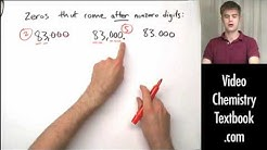 Significant Figures and Zero (1.3)