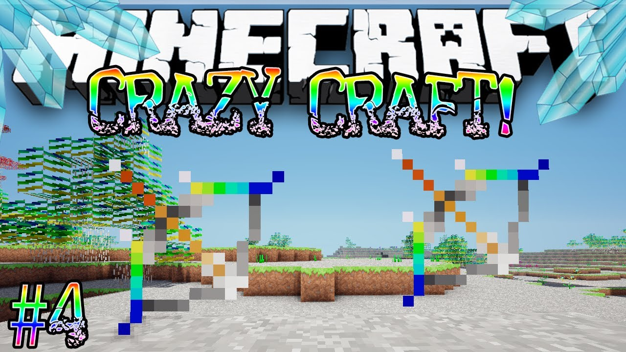 crazy craft free quot ultimate bow quot minecraft craft 1788