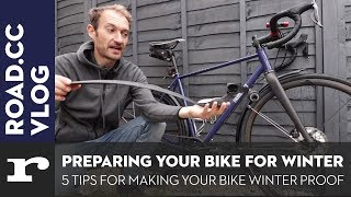 Five top tips for winter prepping your bike