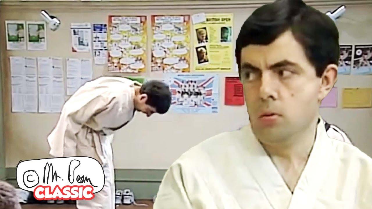 Mr Bean JUDO MASTER | Mr Bean Funny Clips | Classic Mr Bean