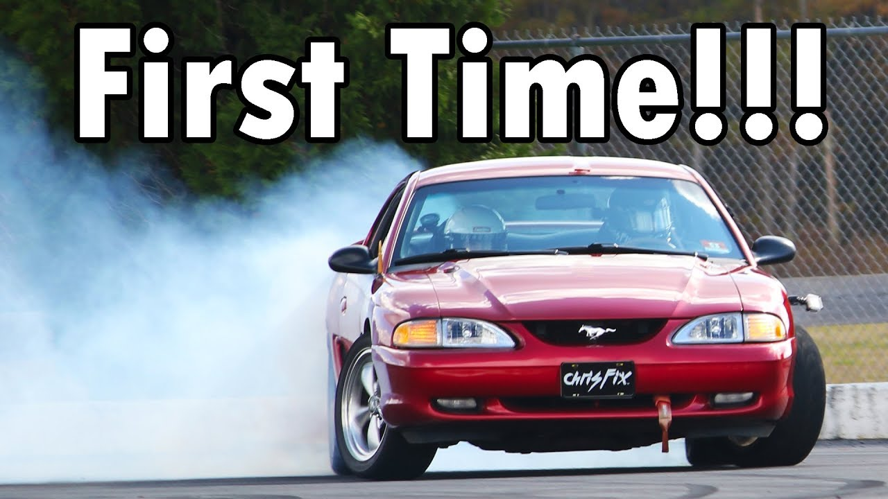 My First Time Drifting at a New Track