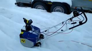 Снегоуборщик OBI