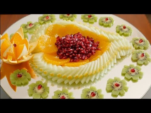 The BEST FRUIT SLICES ideas By J.Pereira Art Carving Fruit And Vegetables