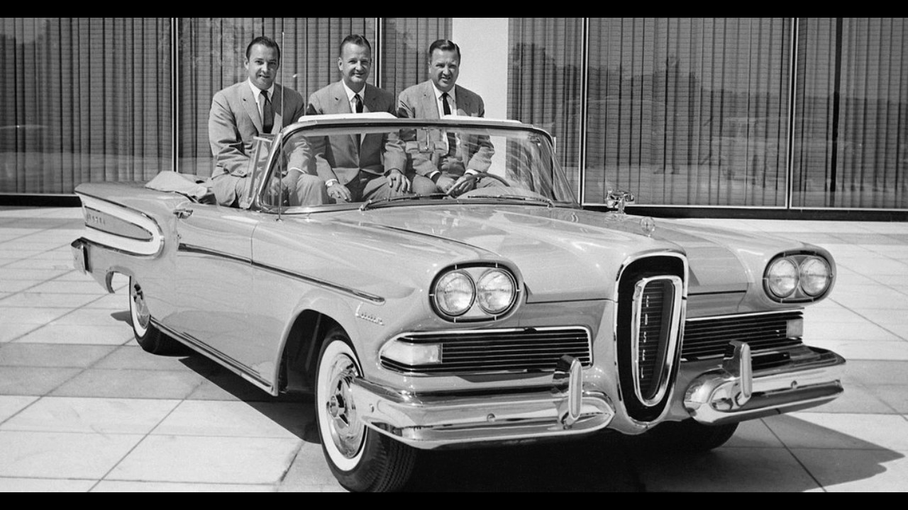 history of the ford edsel youtube. Black Bedroom Furniture Sets. Home Design Ideas