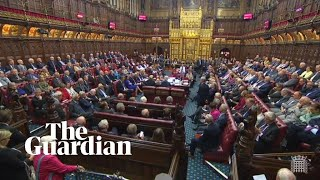 Brexit: House of Lords rejects filibuster of bill to prevent no deal