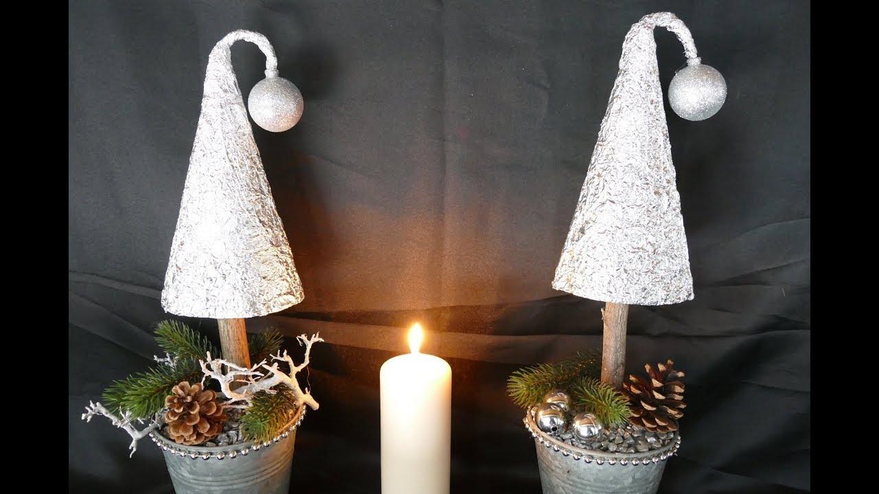 Weihnachtsdeko tanne basteln christmas decoration for Edle weihnachtsdeko