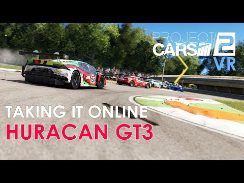 PROJECT CARS 2 ONLINE - VR - HURACAN GT3 - MONZA
