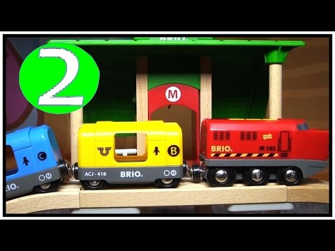 brio-toys-&-plan-toys-quality-construction-trucks-&-railway-trains!-learn-numbers-(2)-learn-to-count
