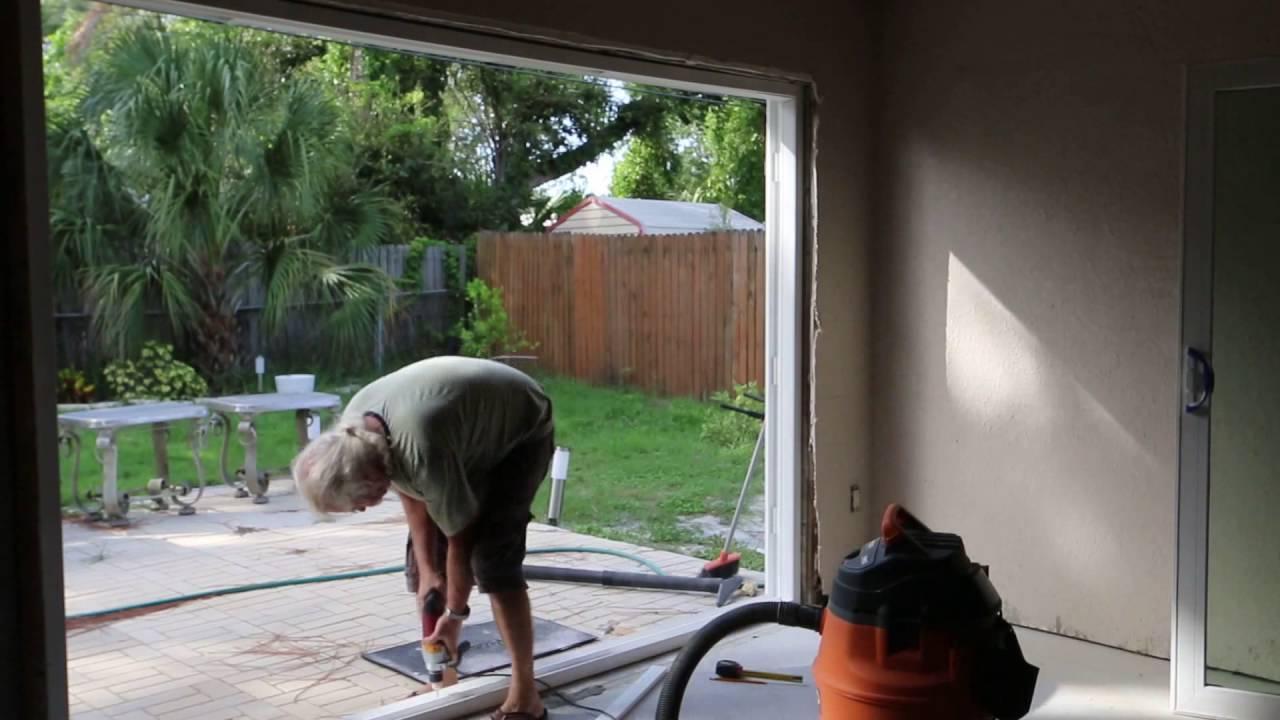 Installation Of Sliding Doors Jeld Wen Youtube