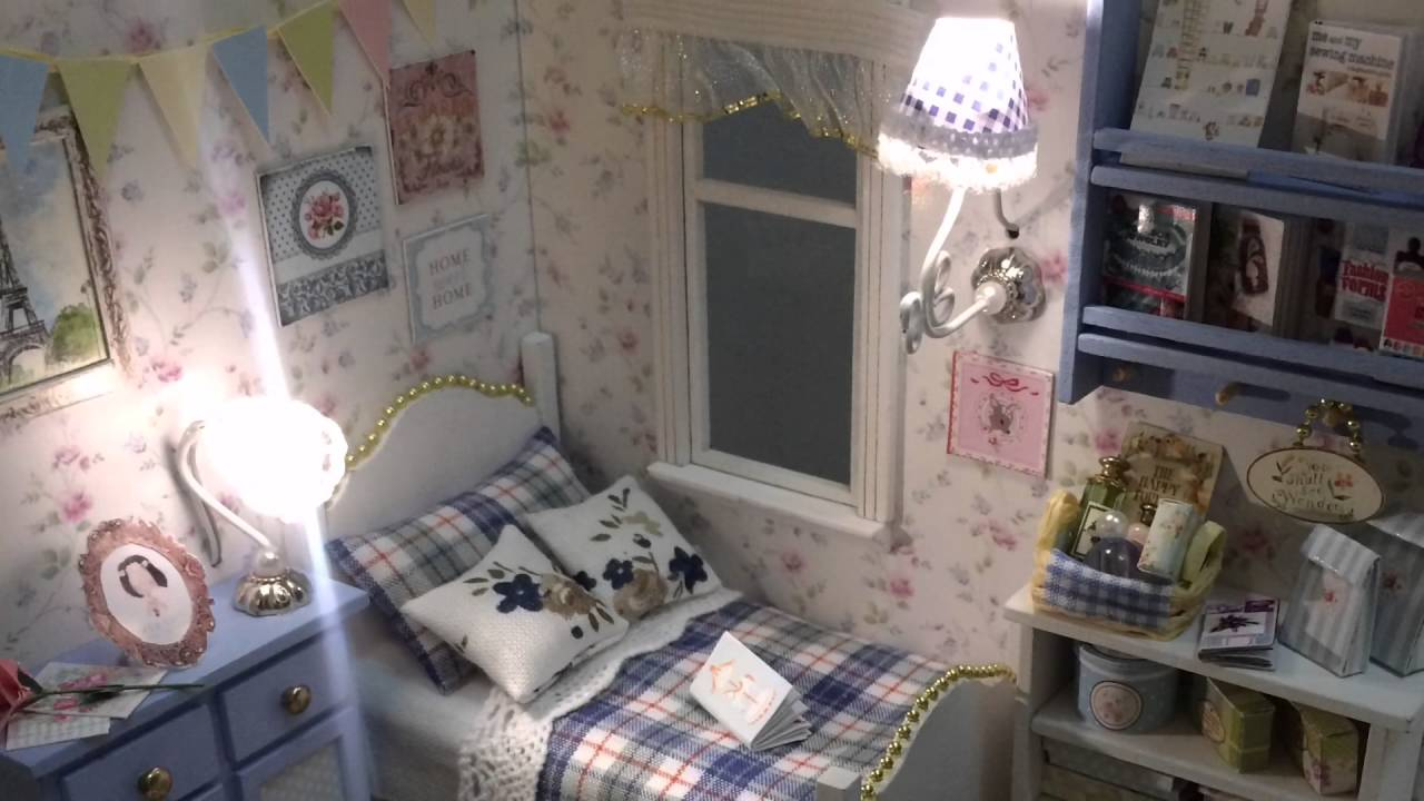 Cute Room Cute Room Diy Miniature Doll House Sunshine Series Youtube