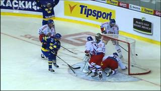 CZECH - SWEDEN 0:1 GOAL ARLBRANDT (JÄMTIN) CZECH HOCKEY GAMES 2013