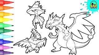 Pokemon Xyz Coloring Pages Yt