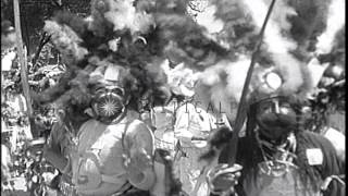 Celebrations to commemorate war against Apache, Suavas, Zapadores in Huejotzingo,...HD Stock Footage