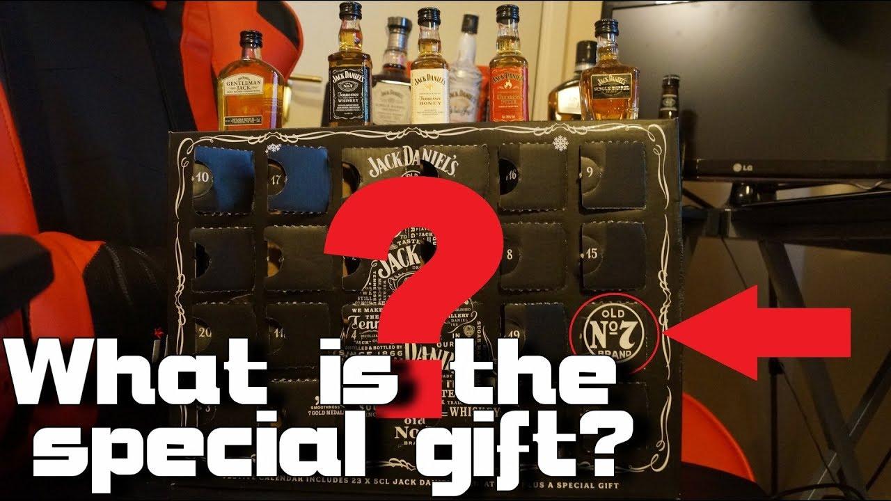 Jack Daniels Advent Calendar.Special Gift Reveal Jack Daniel S Advent Calendar