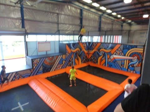 Gopro Hero 3 Sky Zone Indoor Trampoline Park Sydney 2015