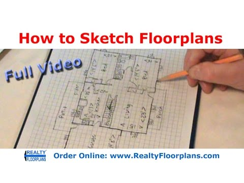 Realty Floorplans: How to Rough Sketch a Floor Plan (Full Version)