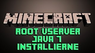 Root/VServer Java installieren German Deutsch Tutorial FAQ