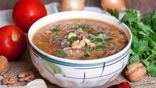 Как приготовить суп харчо! А вам слабо?
