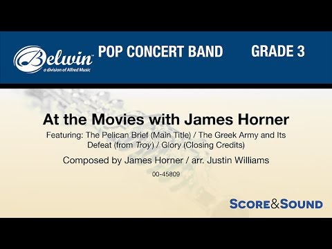At The Movies With James Horner, Arr. Justin Williams – Score & Sound