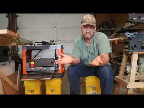 How it rates. RIDGID R4330 planer review