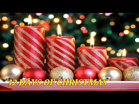12 DAY OF CHRISTMAS  1 Hours Best Christmas Songs 2017